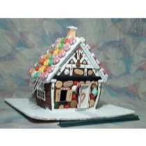 """Gingerbread House (1/2"""" scale)"""